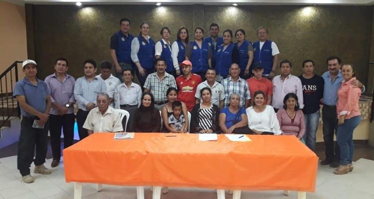 EL GAD PARROQUIAL Y CLUB ROTARY TRABAJANDO POR EL DESARROLLO DE LA PARROQUIA.